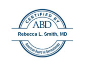 ABD Dermatology Certificate - Rebecca Smith MD